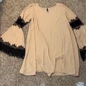 elon short flowy dress